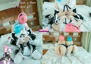 Cosplay Rem y Ram XXX, SexFriend 27