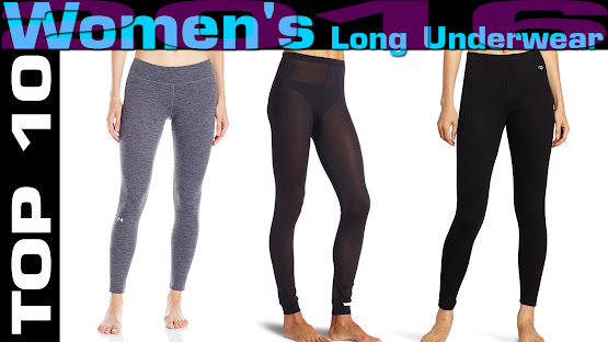 Top 10 Review Products-Top 10 Women's Long Underwear 2016