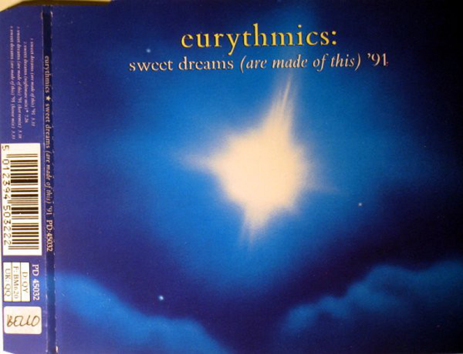 eurythmics - sweet dreams  are made of this   u0026 39 91  cdm  flac