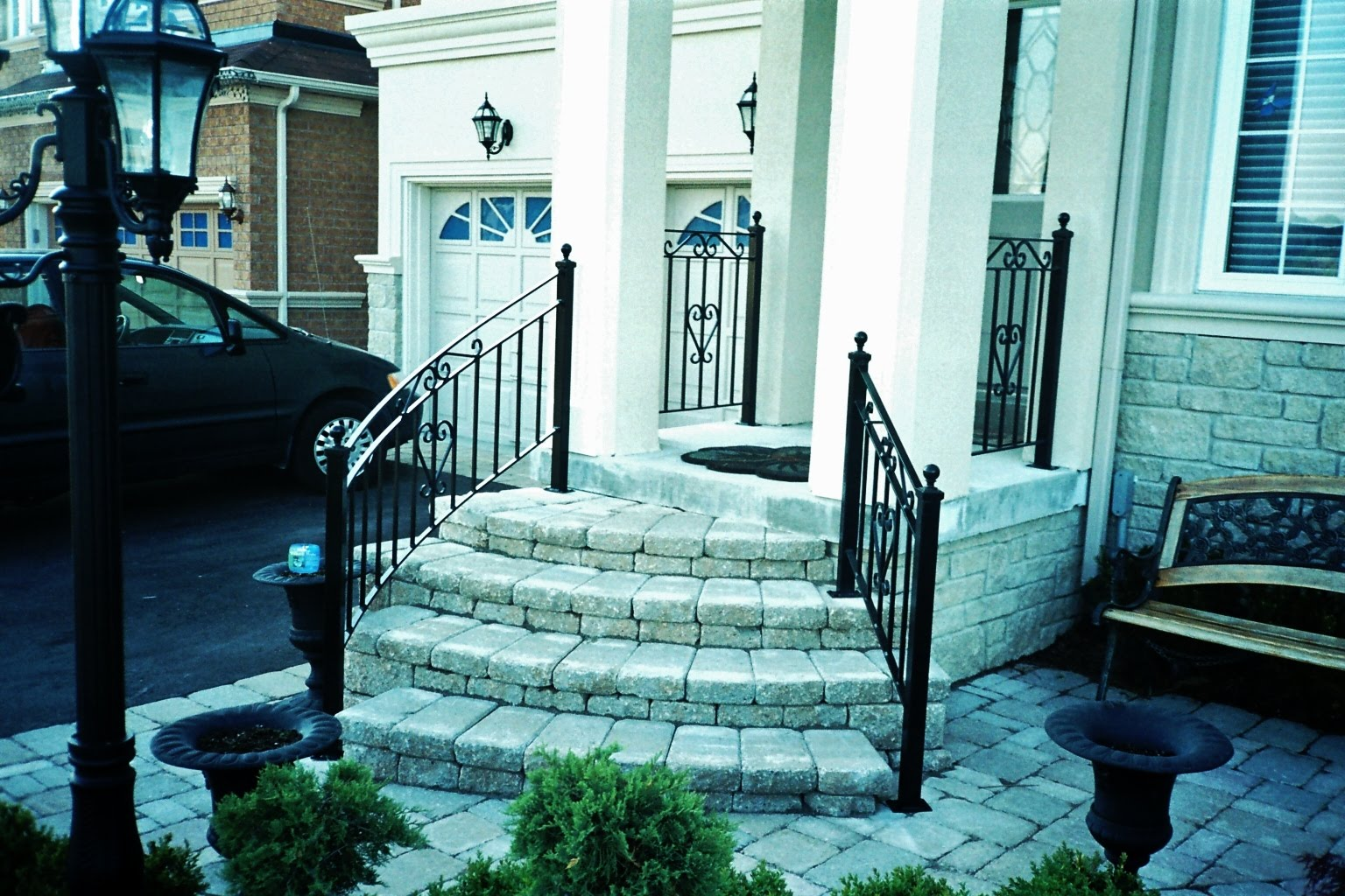 Wrought Iron From Julian: Wrought Iron Outdoor Railings