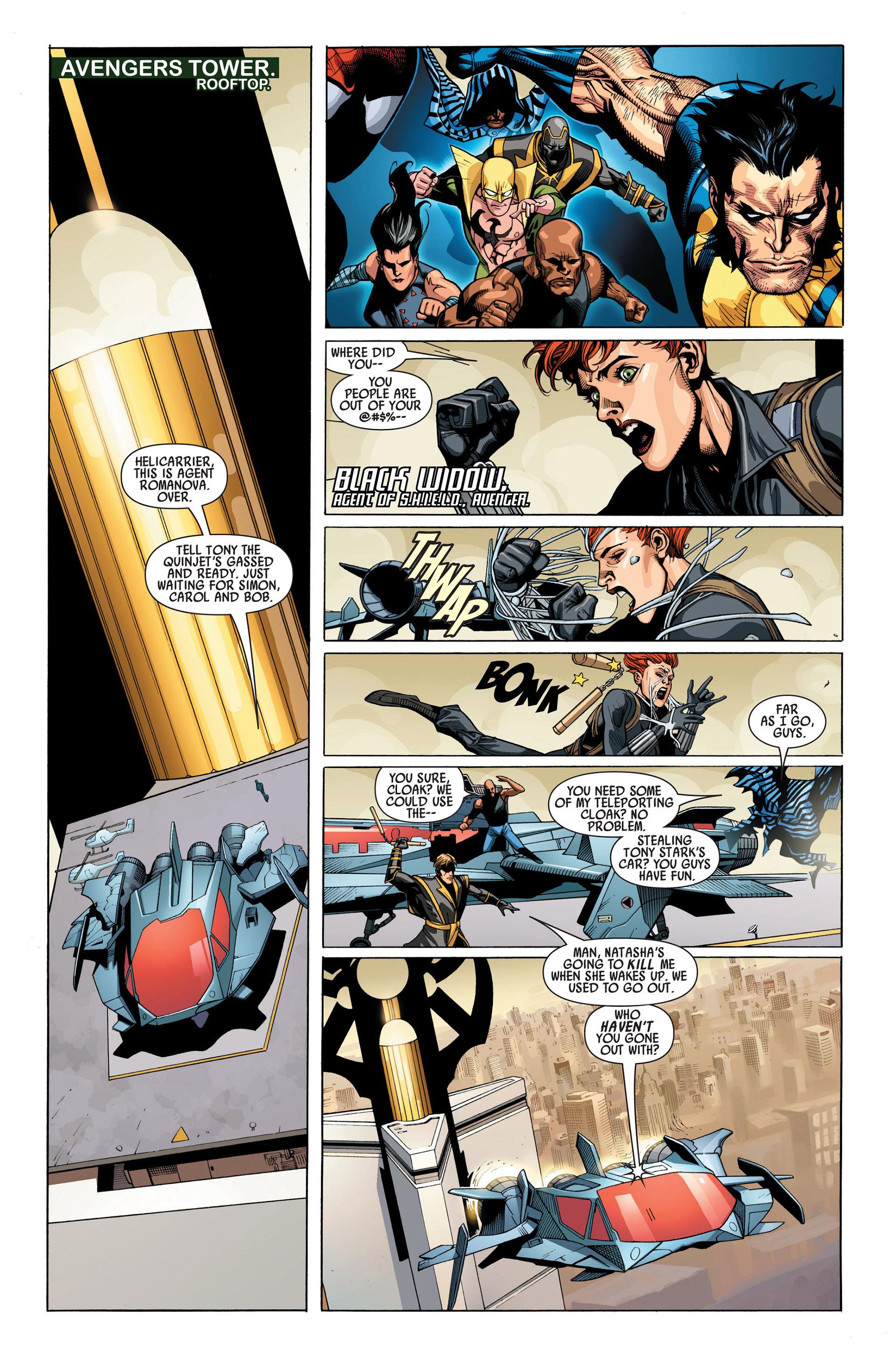Read online Secret Invasion comic -  Issue #1 - 11