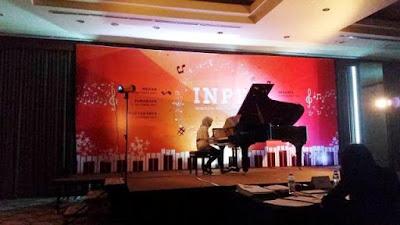penampilan teteh rafa berman piano di indonesia national piano festival jakarta