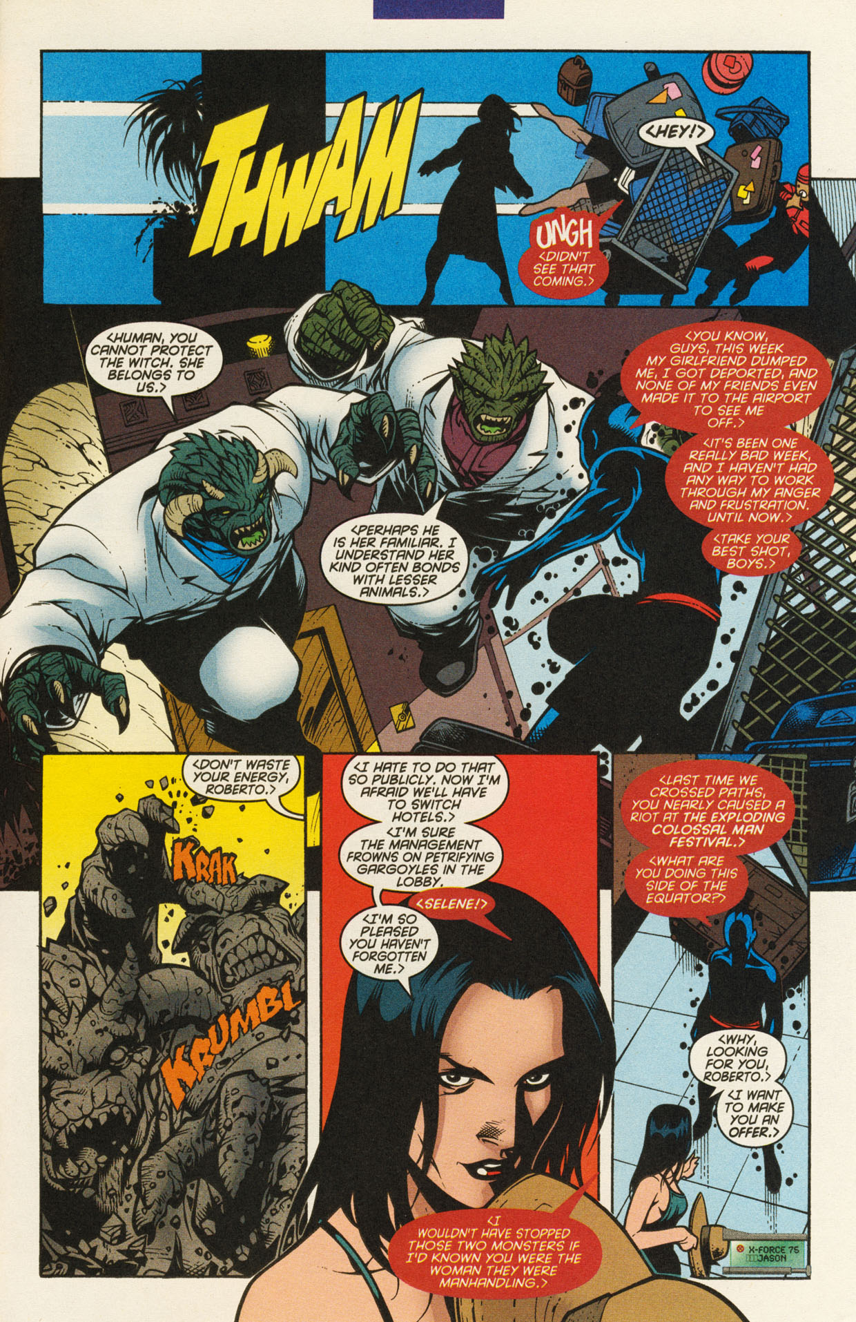 Read online X-Force (1991) comic -  Issue #94 - 21