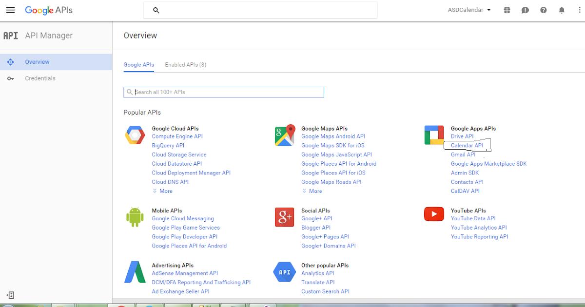 Create Google Calendar Event Programmatically