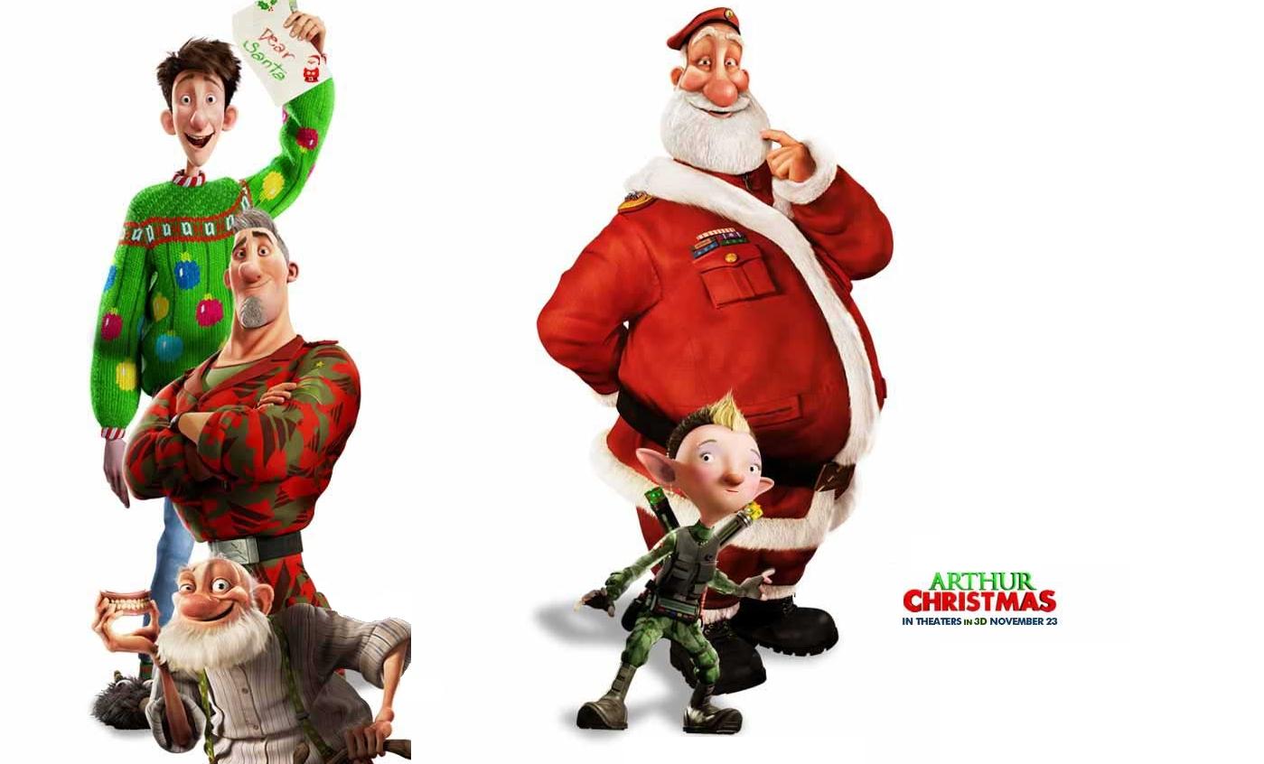 Arthur Christmas Clip : Teaser Trailer