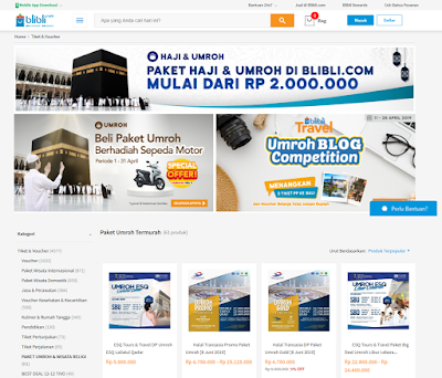 Travel Umroh Blibli.com