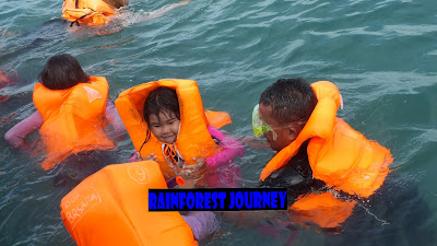 Snorkeling pulau liwungan