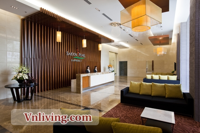 Reception Saigon Pearl Apartment in Binh Thanh District
