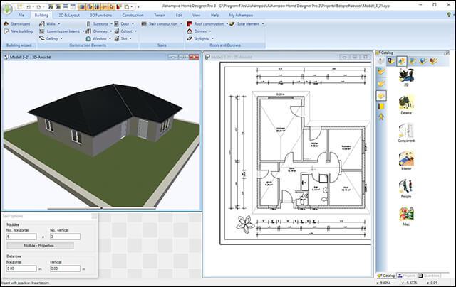 برنامج Ashampoo Home Designer Pro 3