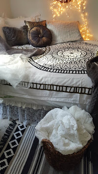 "The ""Urban Outfitter"" boho room - click to see"