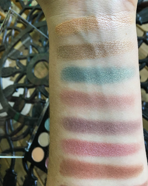 coastal scents shadow pots hot pots 2017 palette caramel ice aluminum taupe niagara victorian pear mai tai mauve frost canyon coral swatch swatched swatches