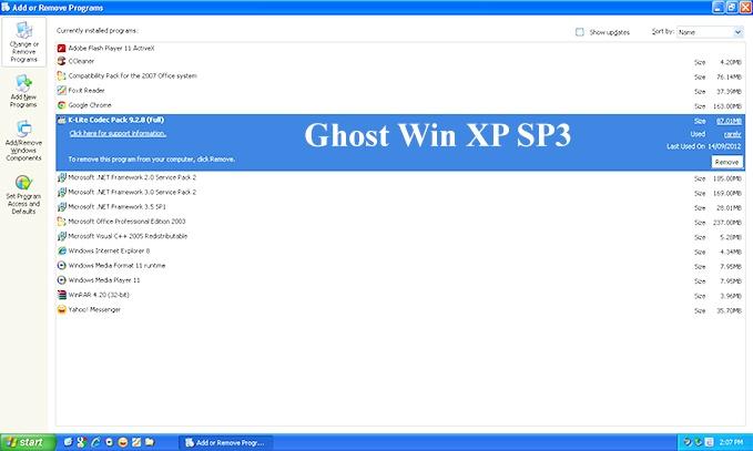 Download Ghost Win XP SP3 32bit, 64bit Siêu Nhẹ - Tự Nhận Full Driver d