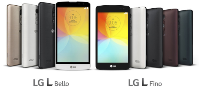L Bello and L Fino, L Bello, L Fino, LG, LG smartphones, LG L Bello, LG L Fino, L Bello and L Fino, smartphones, mobile, smartphone,