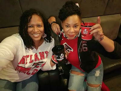 Atlanta Falcons Fans in Houston for Super Bowl Weekend