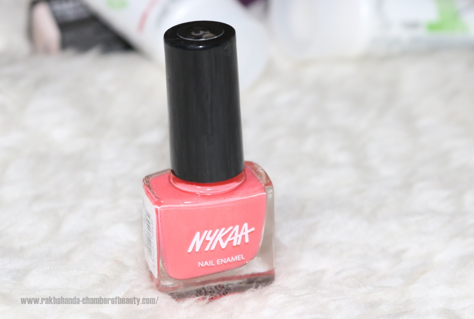 My March 2016 Fab Bag Unboxing, Nykaa Nail Enamel