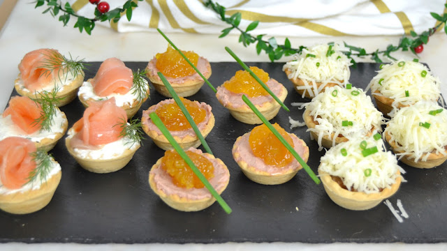 3 ideas de aperitivos en tartaletas para Navidad ¡Fáciles y deliciosas!