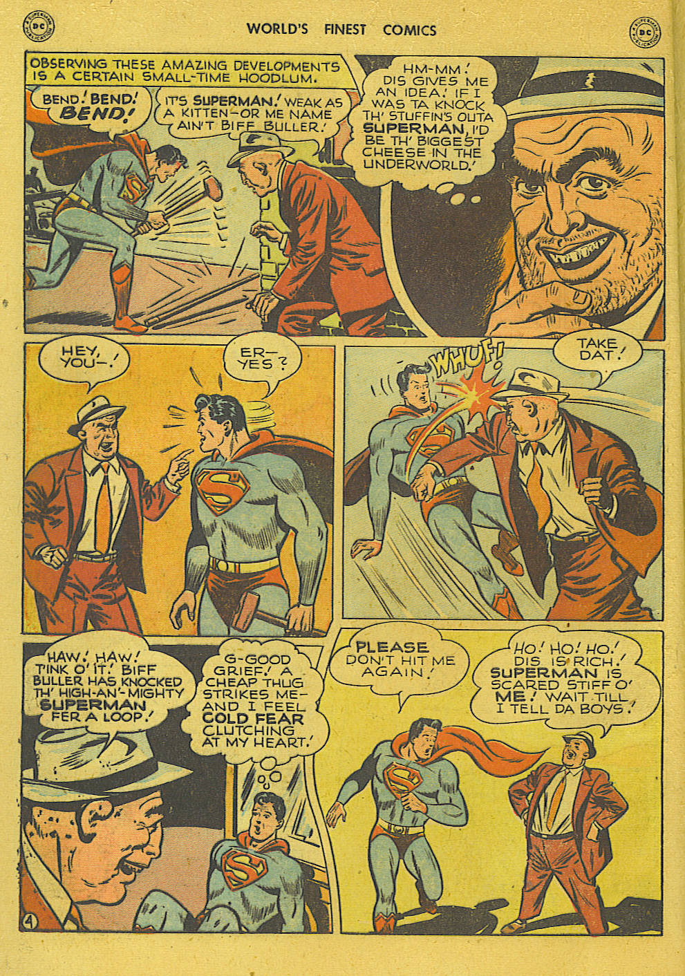 Read online World's Finest Comics comic -  Issue #34 - 6