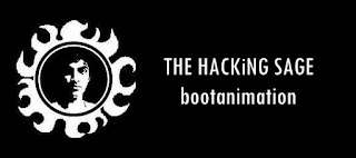THE HACKiNG SAGE Boot Animation
