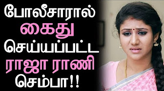 Raja Rani Serial Semba arrested by Japan Police