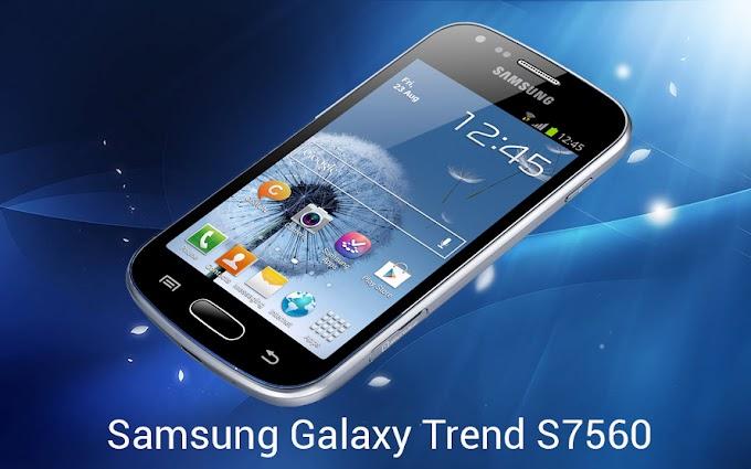 Hard Reset Samsung Galaxy Trend S7560