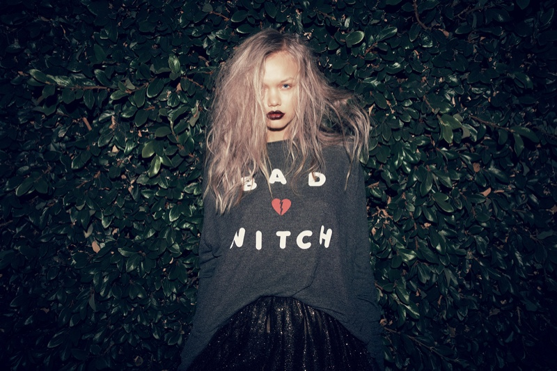 Wildfox Halloween Lookbook 2015 featuring Ellie Leith