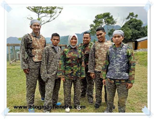 Bersiap Bermain Paintball - Blog Mas Hendra