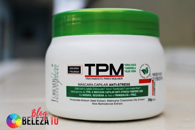 Máscara TPM Forever Liss. Compre produtos da linha Forever Liss como Máscara TPM Anti-Stress, com os melhores preços aqui na Beleza 10.