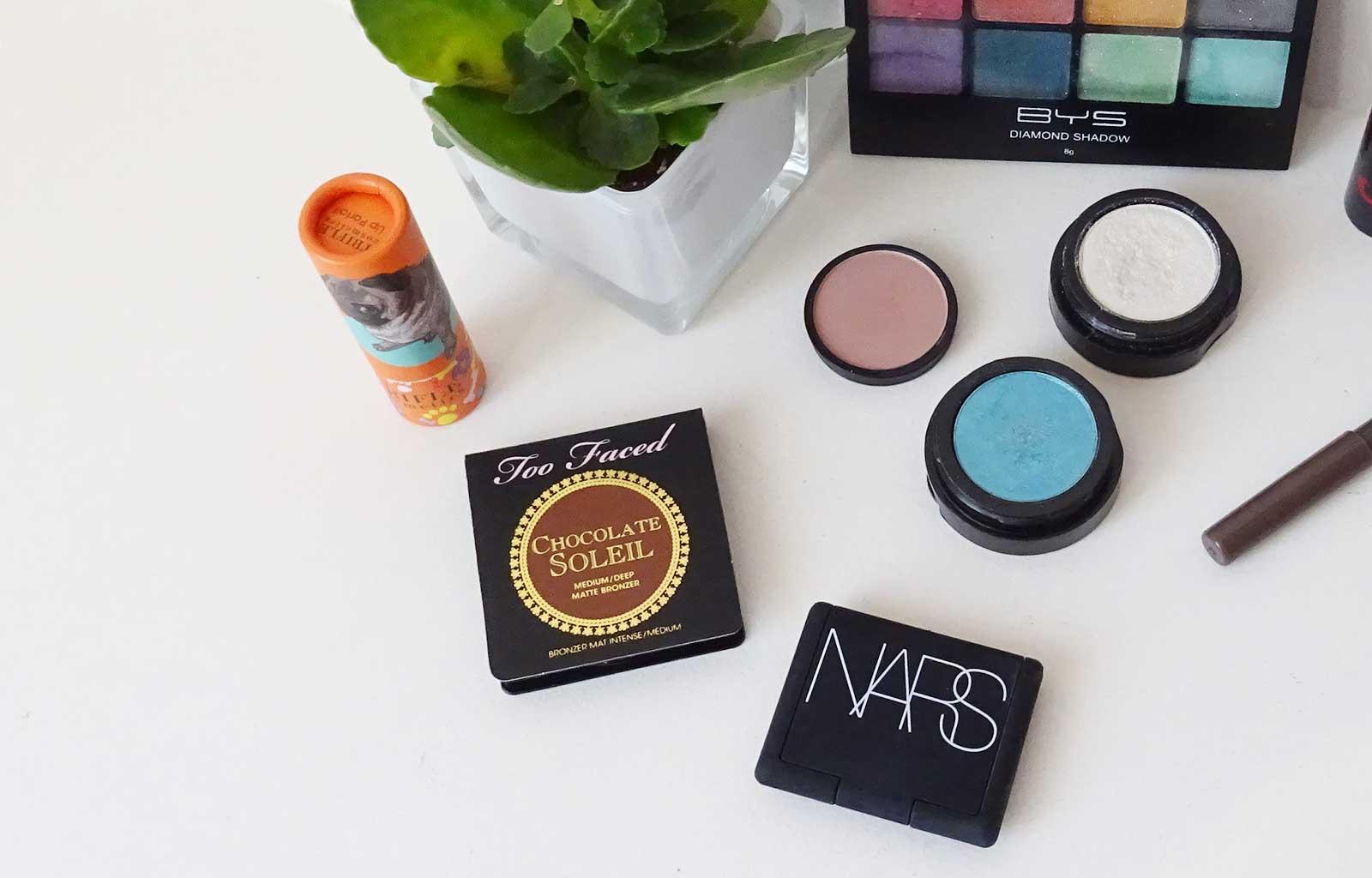 Tutoriel maquillage pastel printemps produits