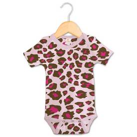 Image of a Leopard Print on a Onesie
