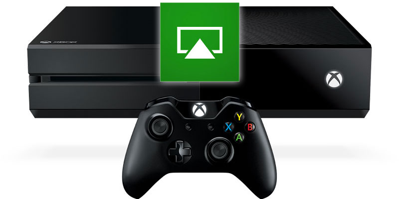 mirror ios or mac os screen to xbox one using airplay