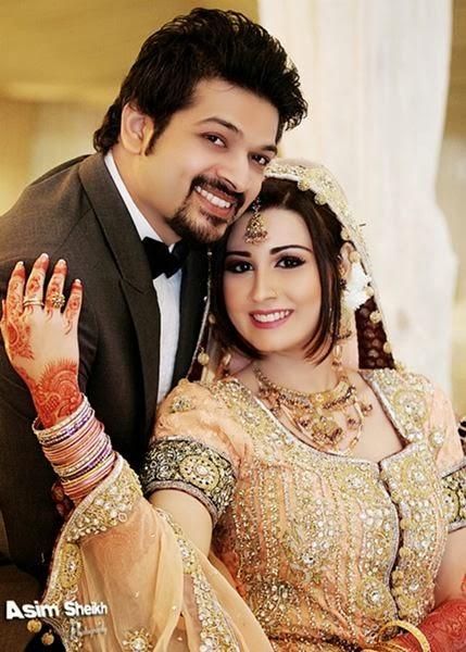 VJ Samra With Her Husband