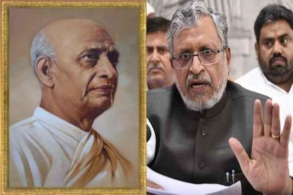 sushil-modi-said-sardar-patel-should-be-first-pm-instead-of-nehru