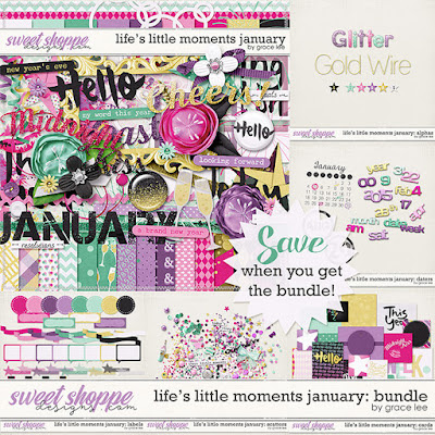 Life's Little Moments - January: Bundle