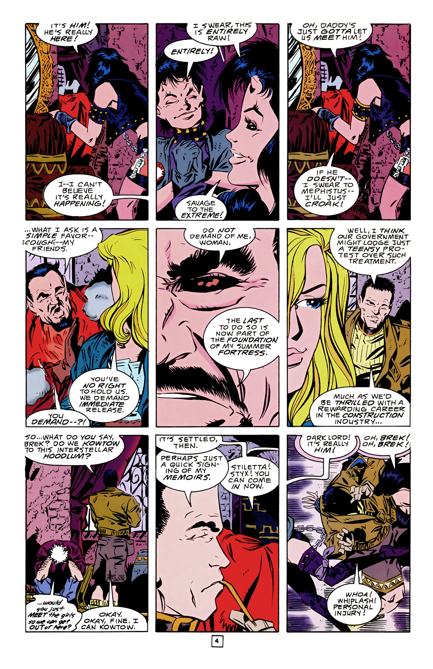 Legion of Super-Heroes (1989) 14 Page 4