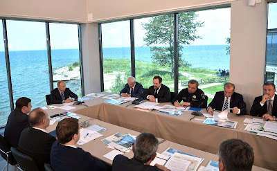 Meeting on development of Baikal natural area.