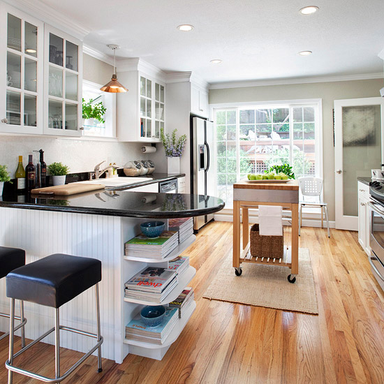Modern Furniture Small Kitchen Decorating Design Ideas 2011
