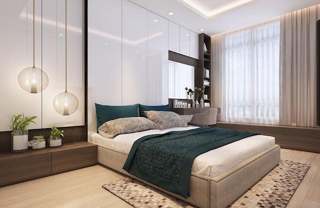 Thiết kế tinh tế view biển của 1 căn hộ 2 phòng ngủ tại Sơn Trà Ocean View Đà Nẵng