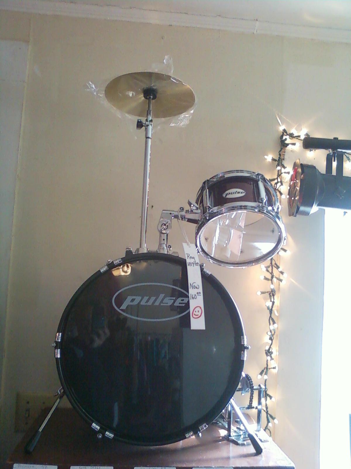 The Drum Line Pulse Junior Drum Kit