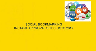 TOP SOCIAL BOOKMARKING SITES LIST 2016,LATEST BOOKMARKING SITES LIST 2016