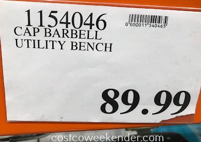 Deal for the CAP Strength Deluxe Utility Bench at Costco