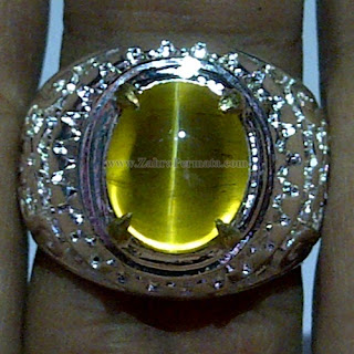 Cincin Batu Opal Cat Eye - ZP 1043