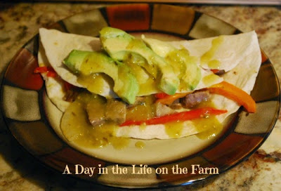 Lengua Tacos by A Day in the Life on the Farm (inspired by The Goonies for Food 'n Flix)