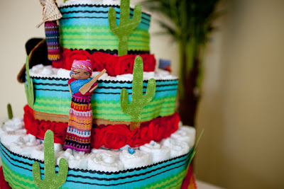 Diaper Party Cake Ideas
