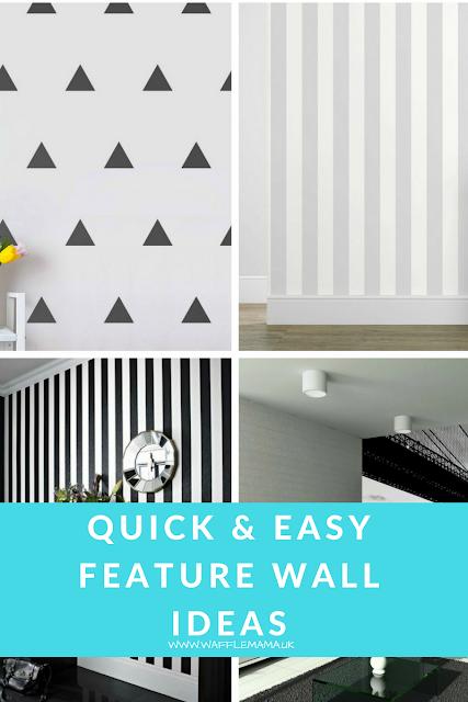 Feature wall ideas, home makeover ideas, wallpaper, chalk board wall, art wall, mural, kids room