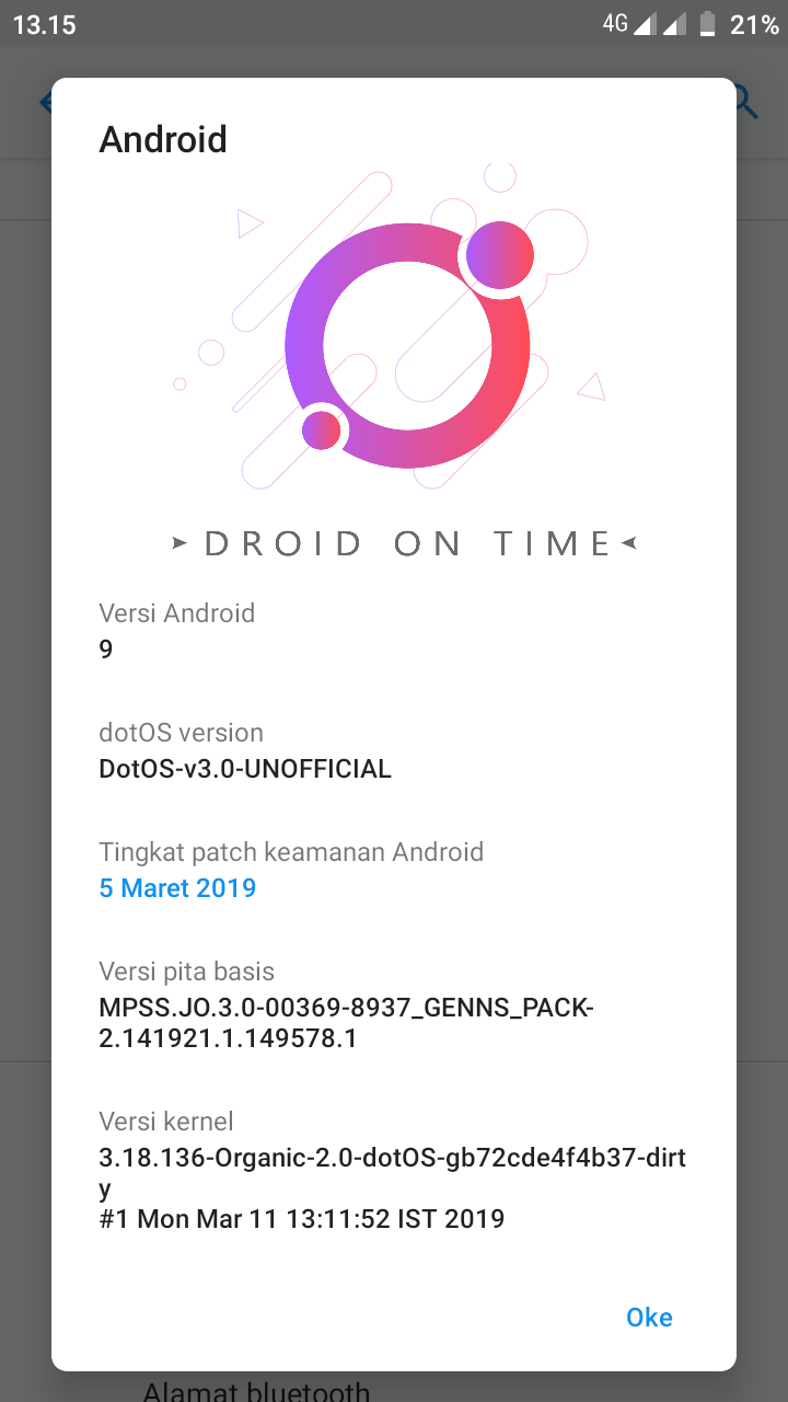 Android Pie Redmi 5a