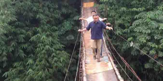Jembatan Mengerikan di Jagakarsa akan Diganti Sandi: Target Selesai 3 Bulan