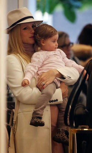 Michelle Hunziker enjoys her Baby Girl
