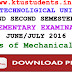 Question Paper for Basics of Mechanical Engineering(ME100)-Supplementary Examination June/July 2016