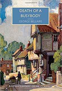 death of a busybody cover