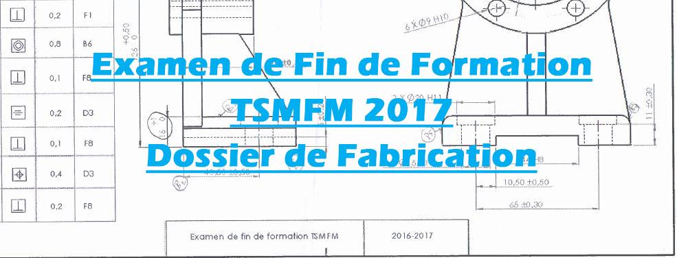 examen de fabrication mécanique pdf